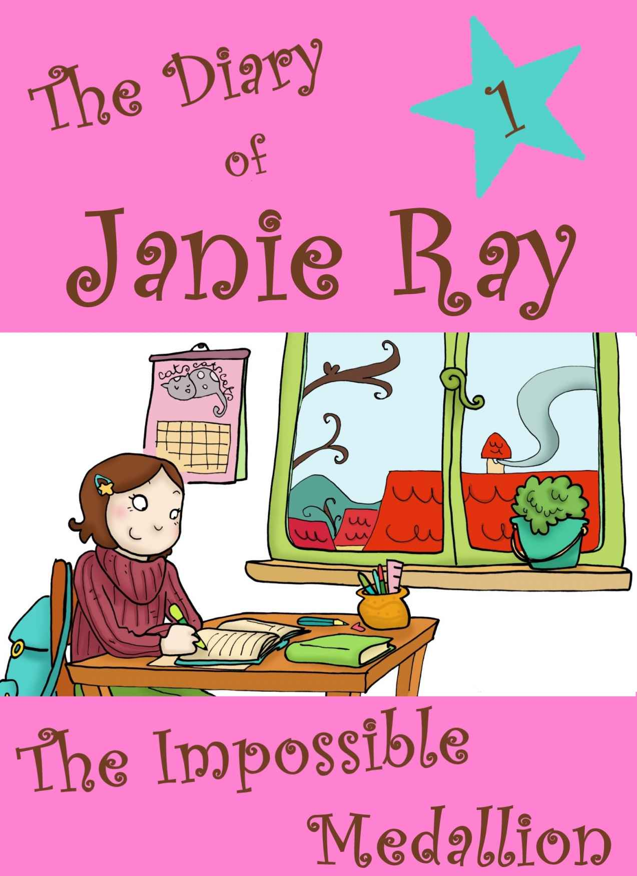 The Impossible Medallion (a tween time-travel story for ages 9-12) (The Diary of Janie Ray) by Lila Segal