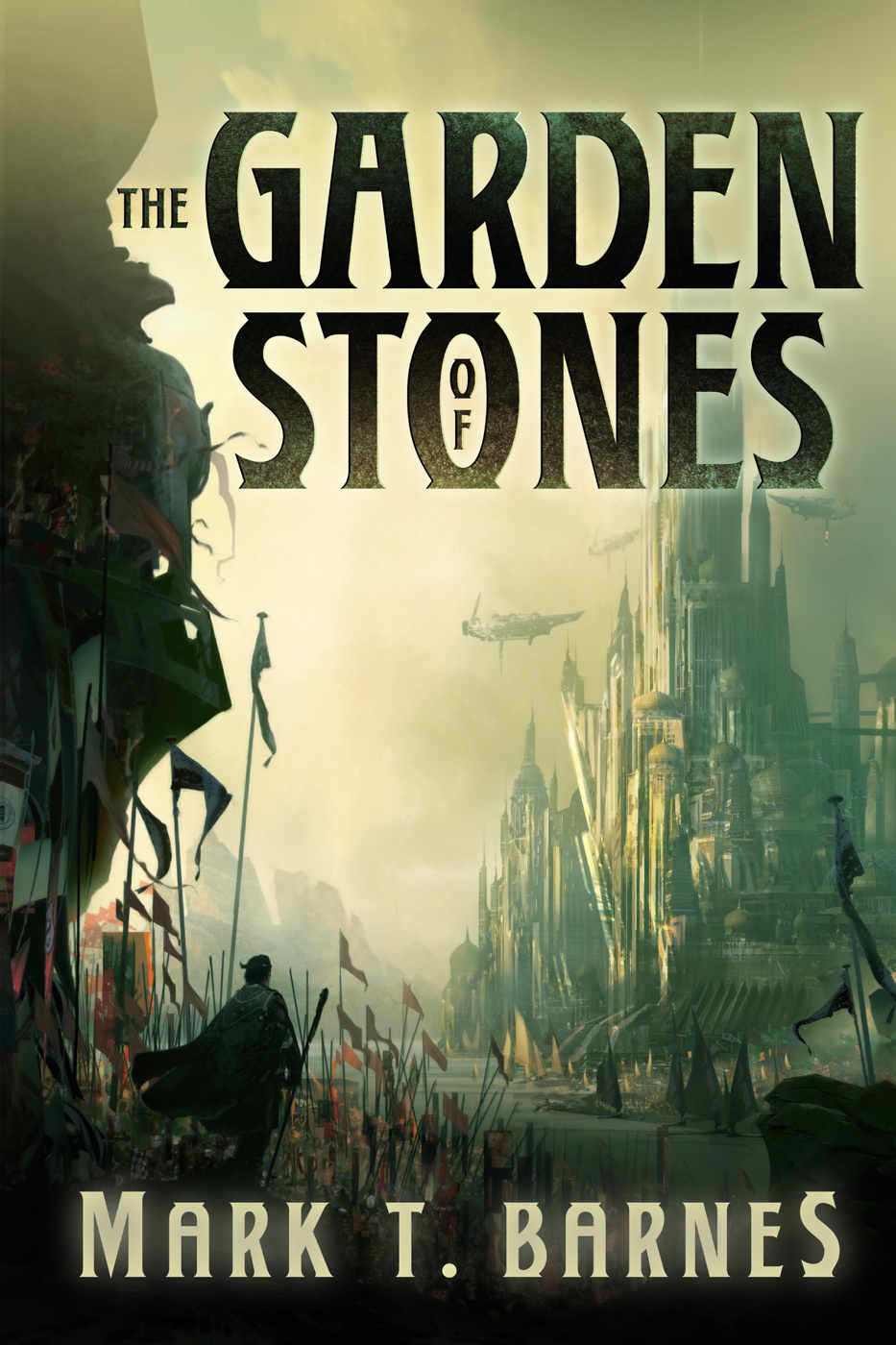 The Garden of Stones (Echoes of Empire#1) by Mark T. Barnes