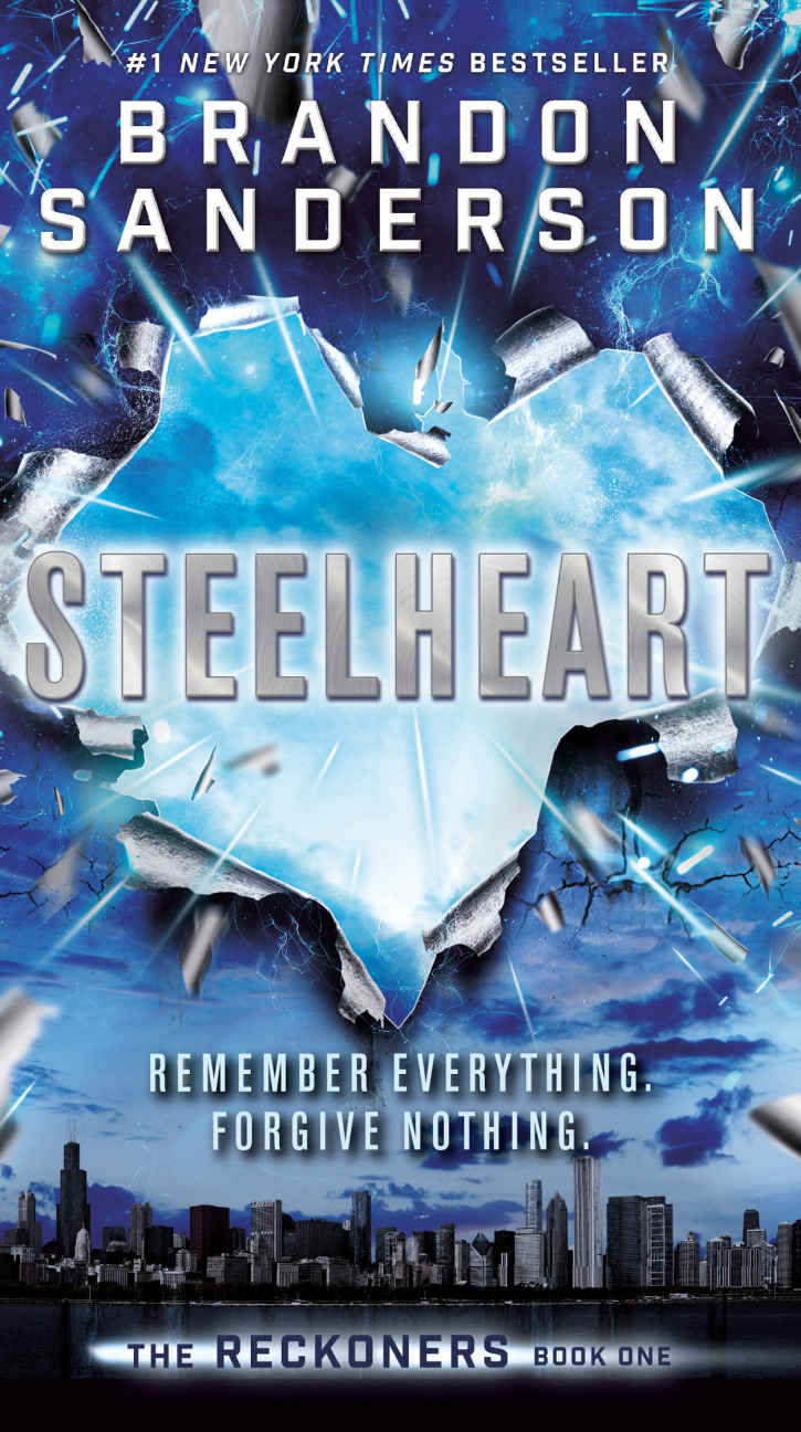 Steelheart (Reckoners #1) by Brandon Sanderson