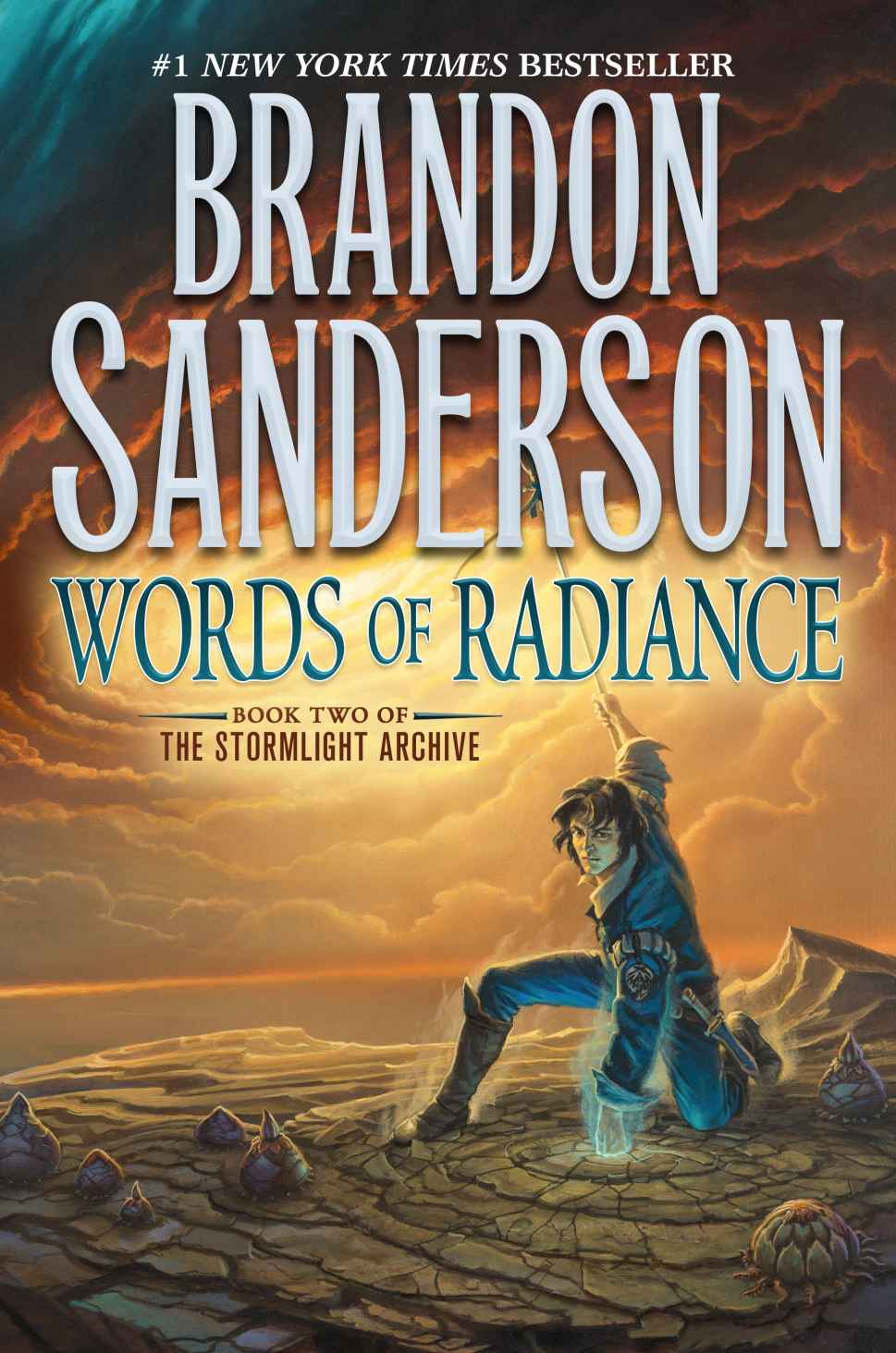 Words of Radiance by Brandon Sanderson (The Stormlight Archive #2)
