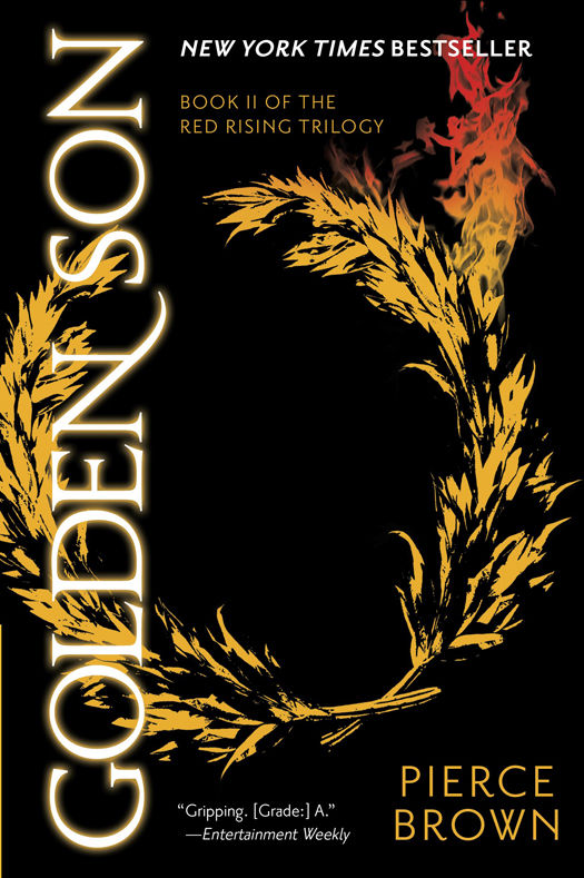 Golden Son by Pierce Brown (The Red Rising Trilogy, Book 2)