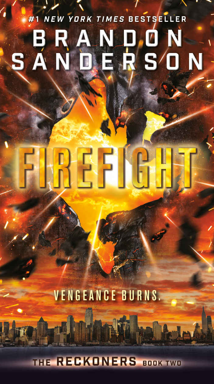 Firefight by Brandon Sanderson (Reckoners #2)