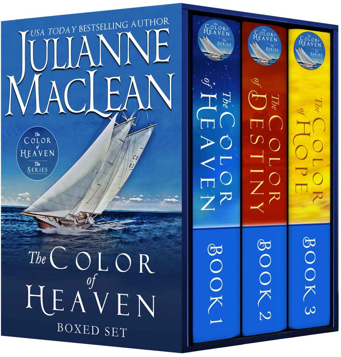 The Color of Heaven Series Boxed Set: (Books 1-3) Kindle Edition by Julianne MacLean