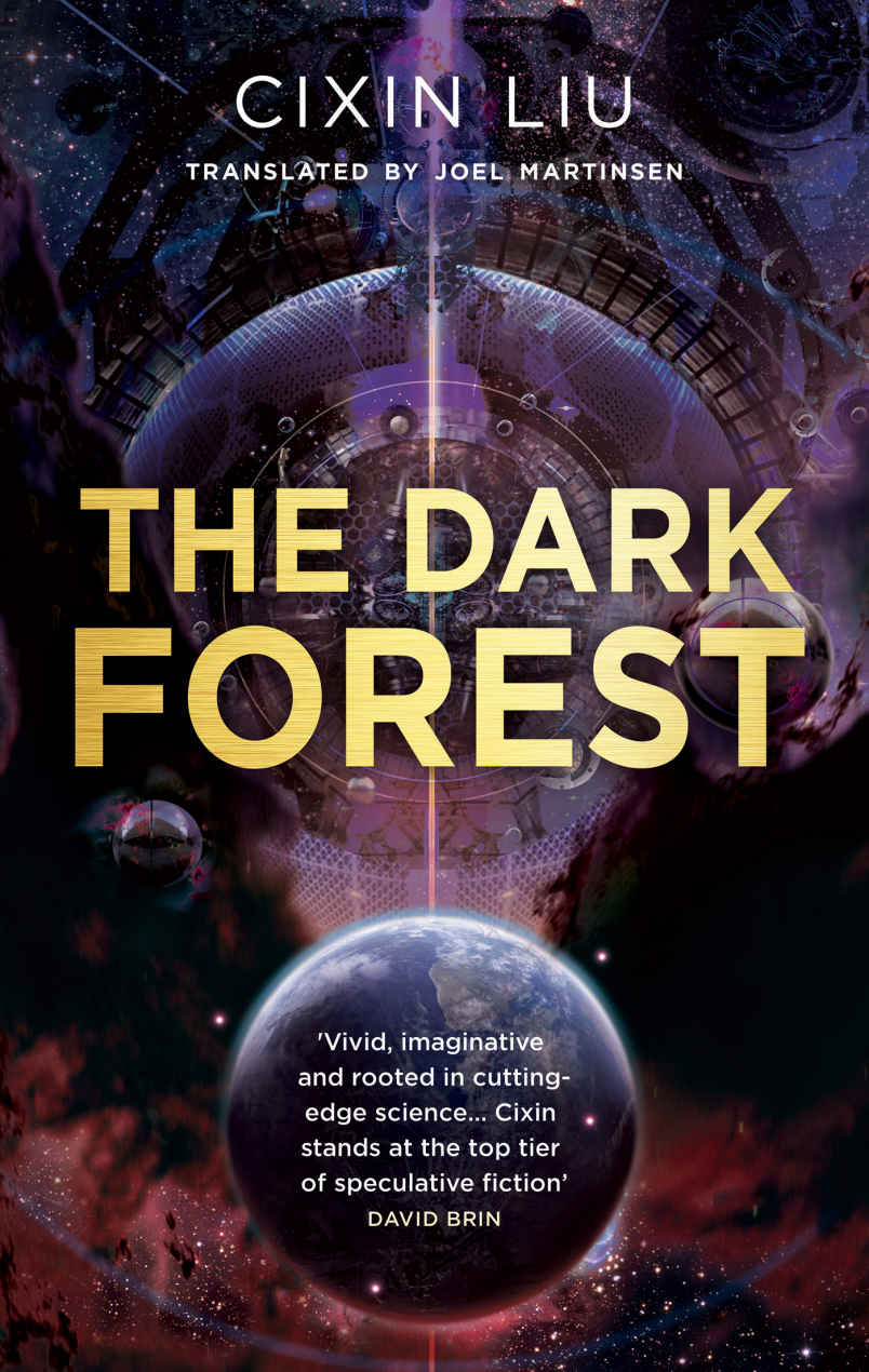 The Dark Forest by Cixin Liu (Three Body #2)