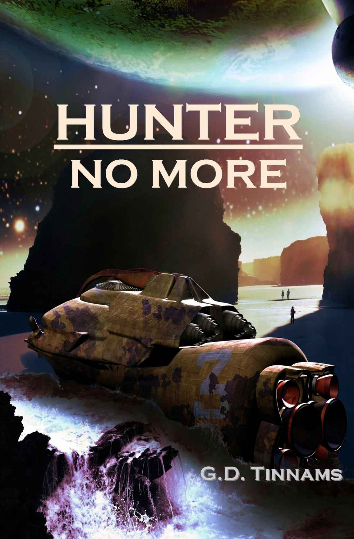 Hunter No More by G.D. Tinnams