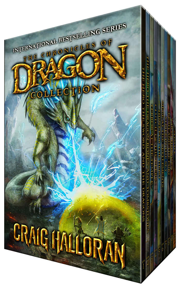 The Chronicles of Dragon Collection by Craig Halloran (Series 1 Omnibus, Books 1-10)