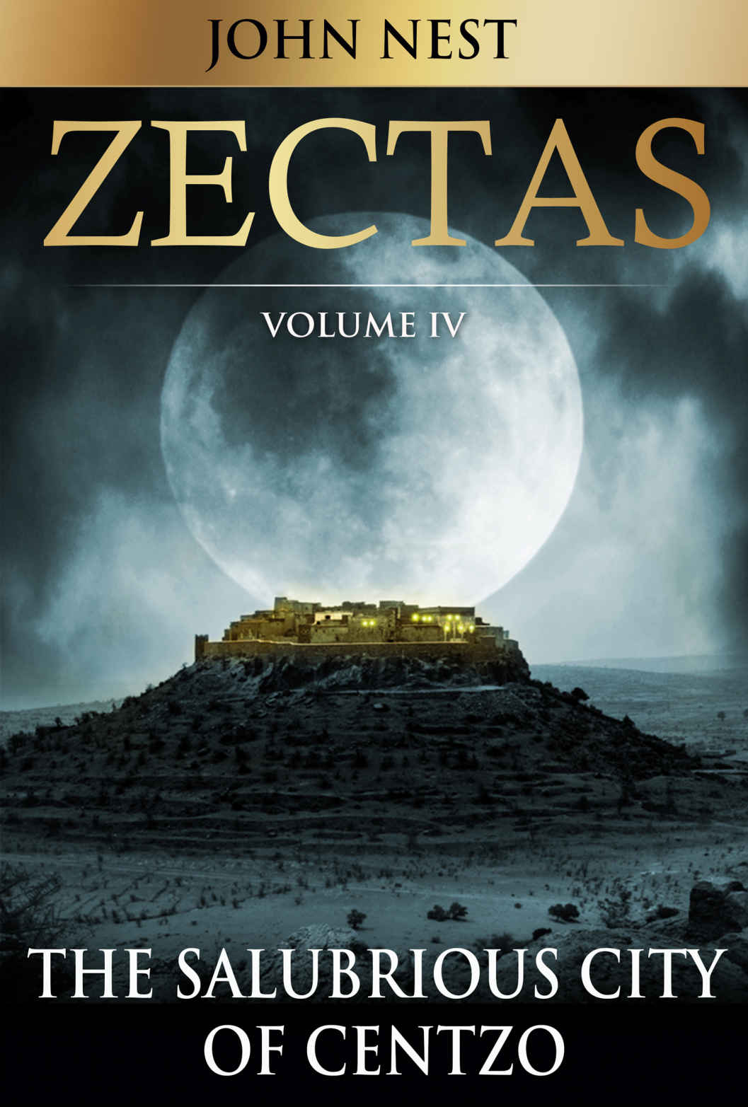 The Salubrious City of Centzo (Zectas #4) by John Nest