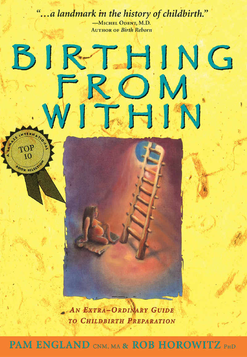 5 of The Highest Rated Natural Birth Books Ever Written - Birthing from Within: An Extra-Ordinary Guide to Childbirth Preparation  by Pam England and Rob Horowitz  4.2 out of 5 stars,  390 ratings
