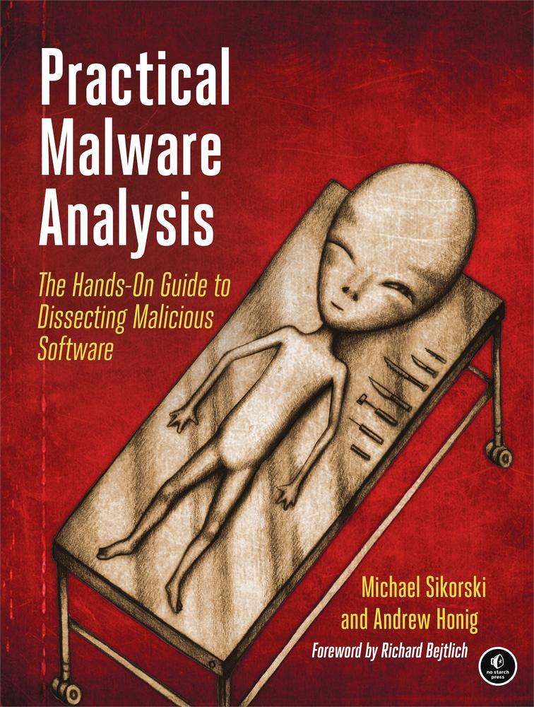 Practical Malware Analysis: The Hands-On Guide to Dissecting Malicious Software, Sikorski, Michael; Honig, Andrew