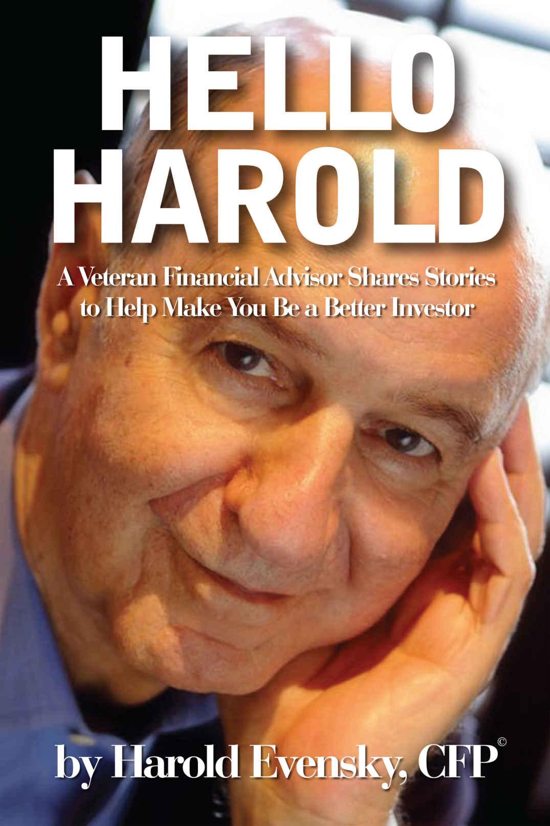 Book Hello Harold