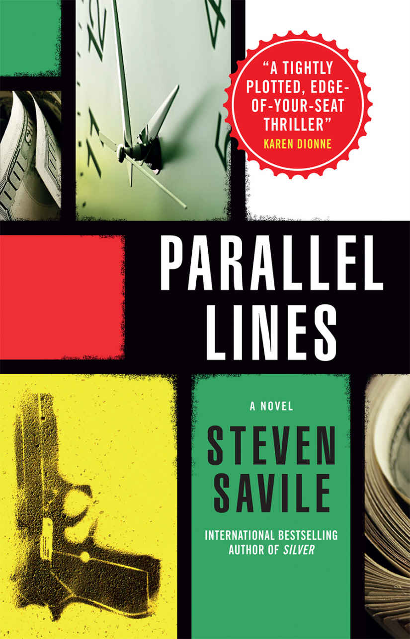 Author Spotlight: Steven Savile: Parallel Lines