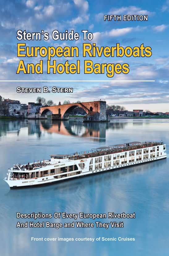 The latest issue of Stern's Guide to European Riverboats and Hotel Barges featuring updates on all river cruise operators, is now available