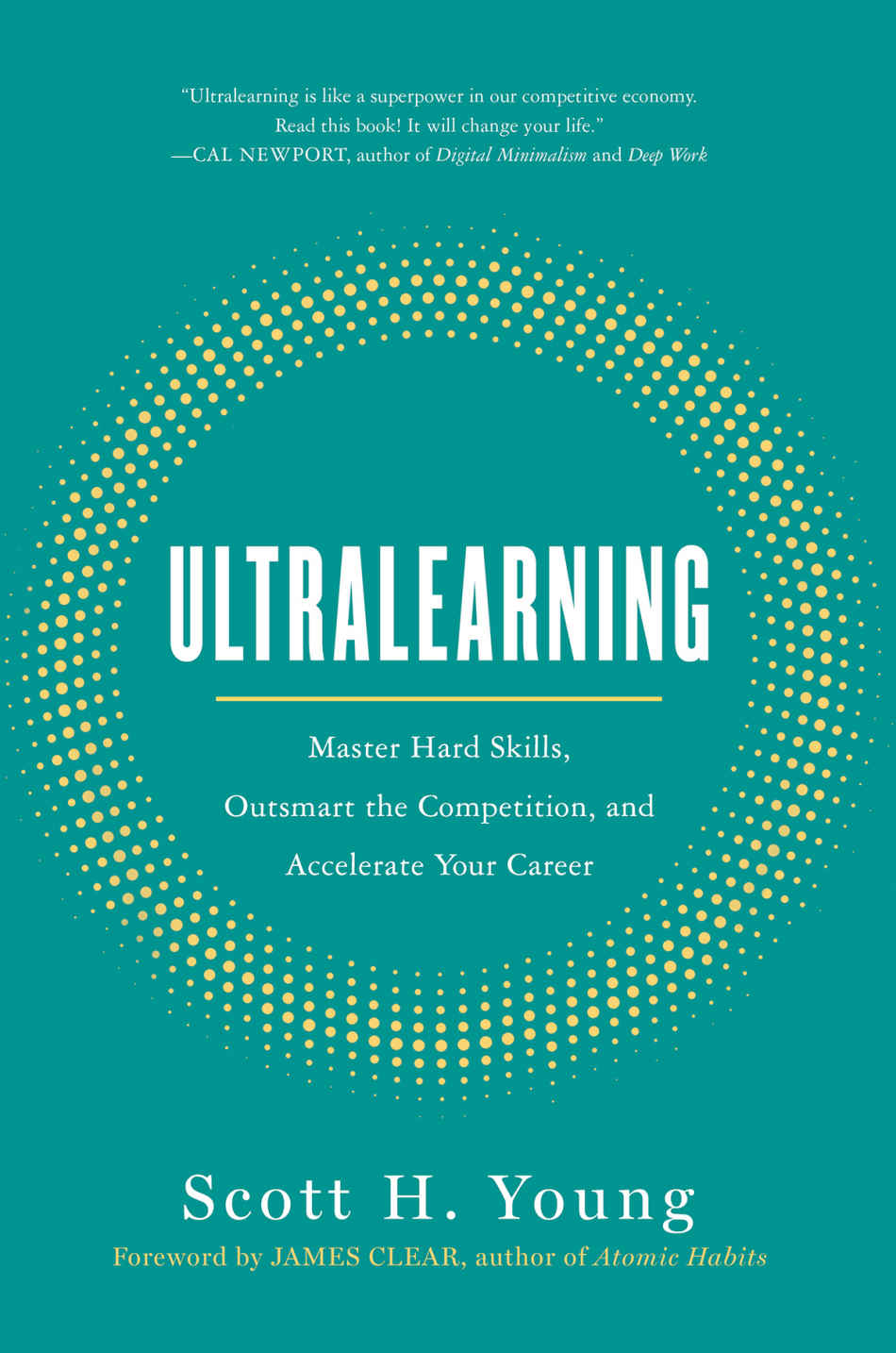 Cover photo of Ultralearning book