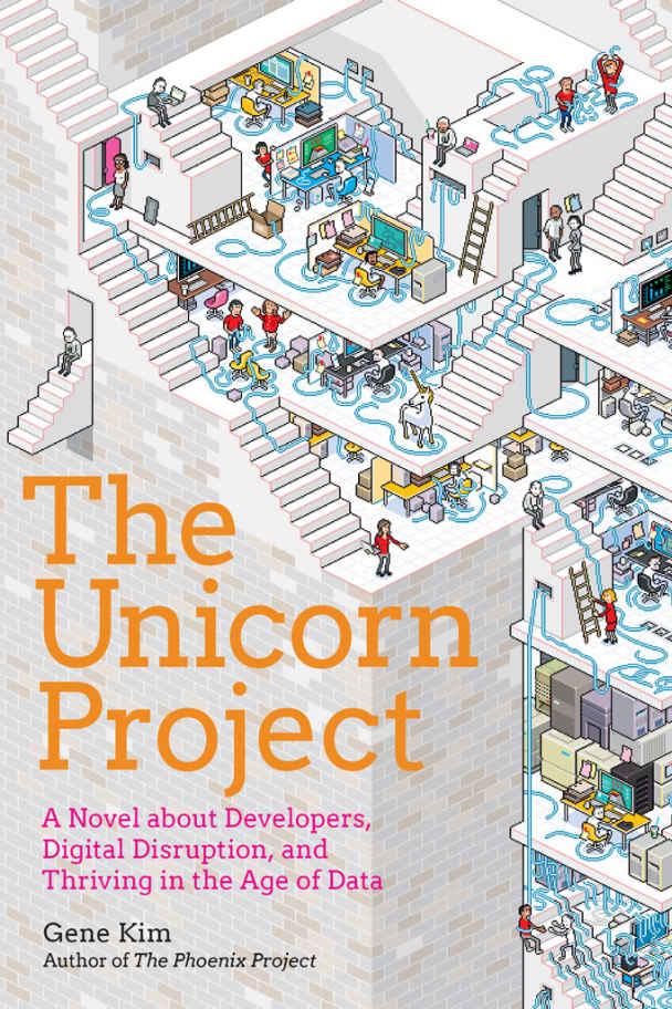 The Unicorn Project Book Cover