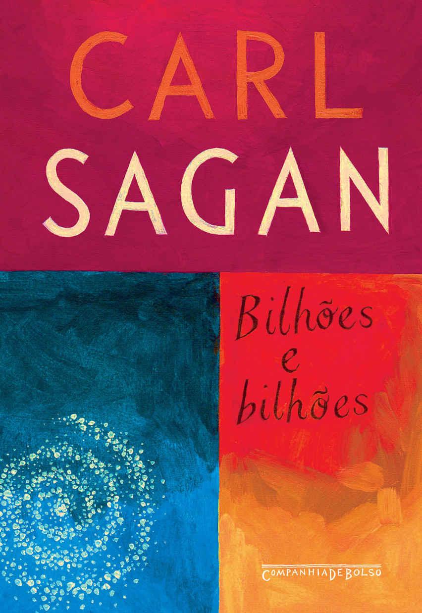 Livro 'Bilhões e bilhões' por Carl Sagan